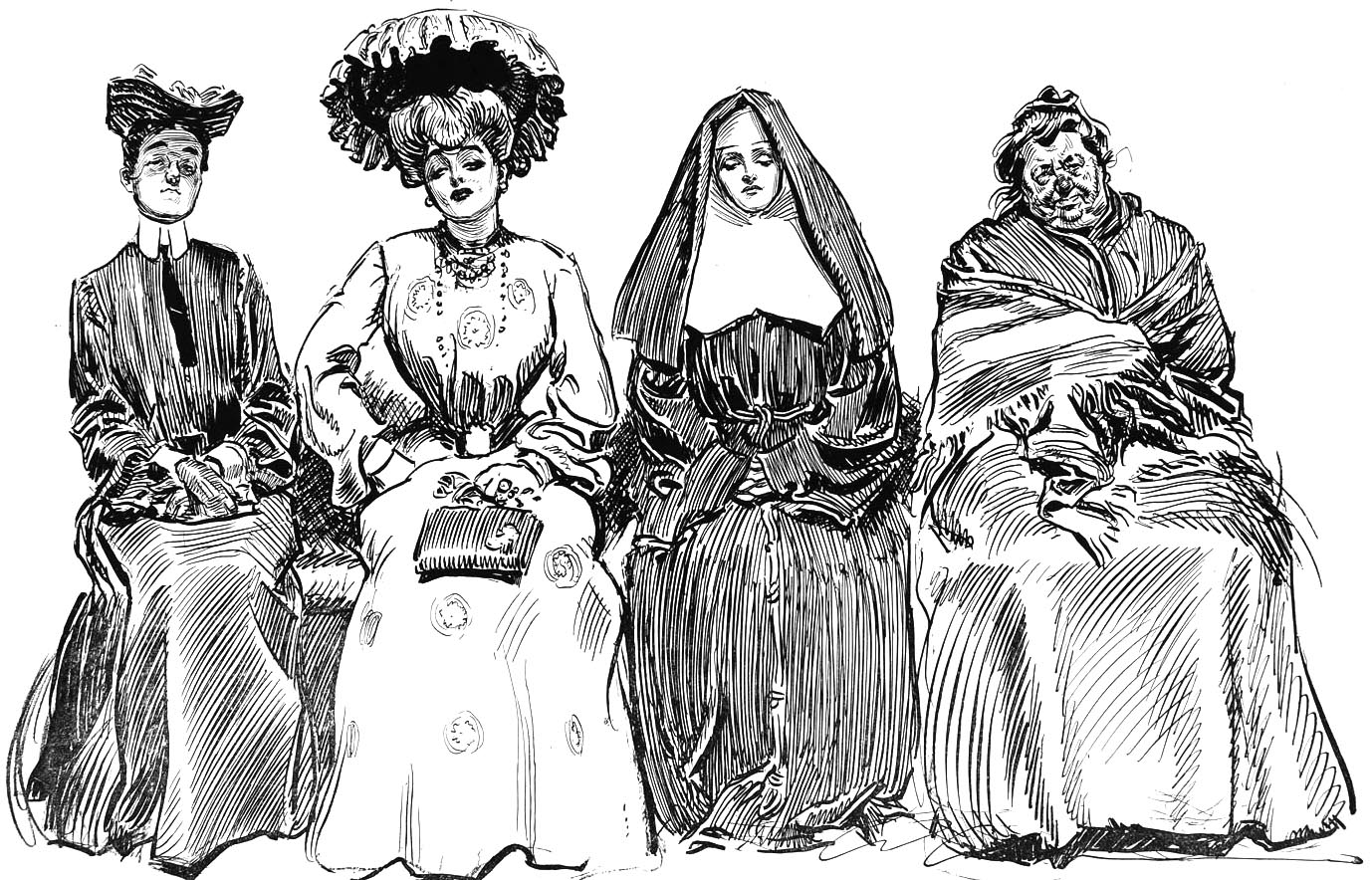Drawings of Charles Dana Gibson