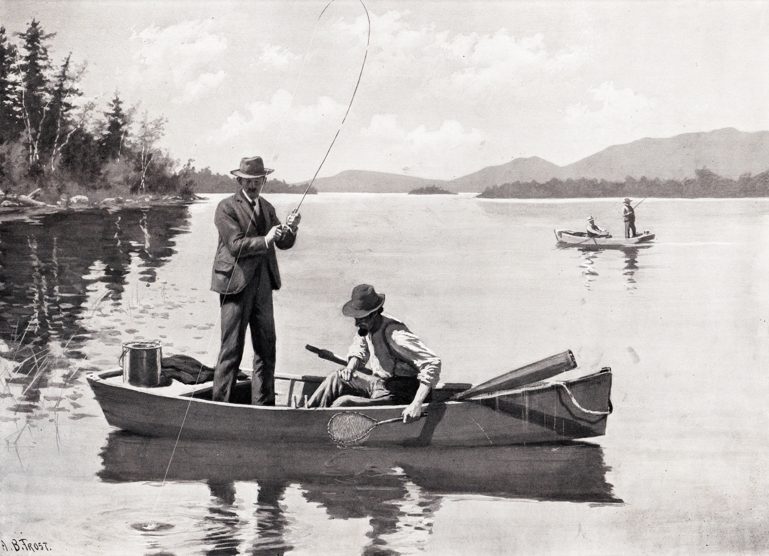 Frost, A.B. hunting & fishing prints (1904)