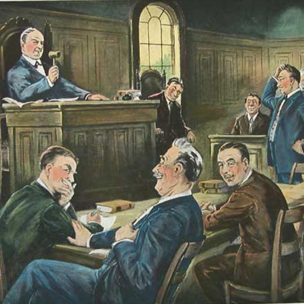 Darvill Legal Scenes (1930s)