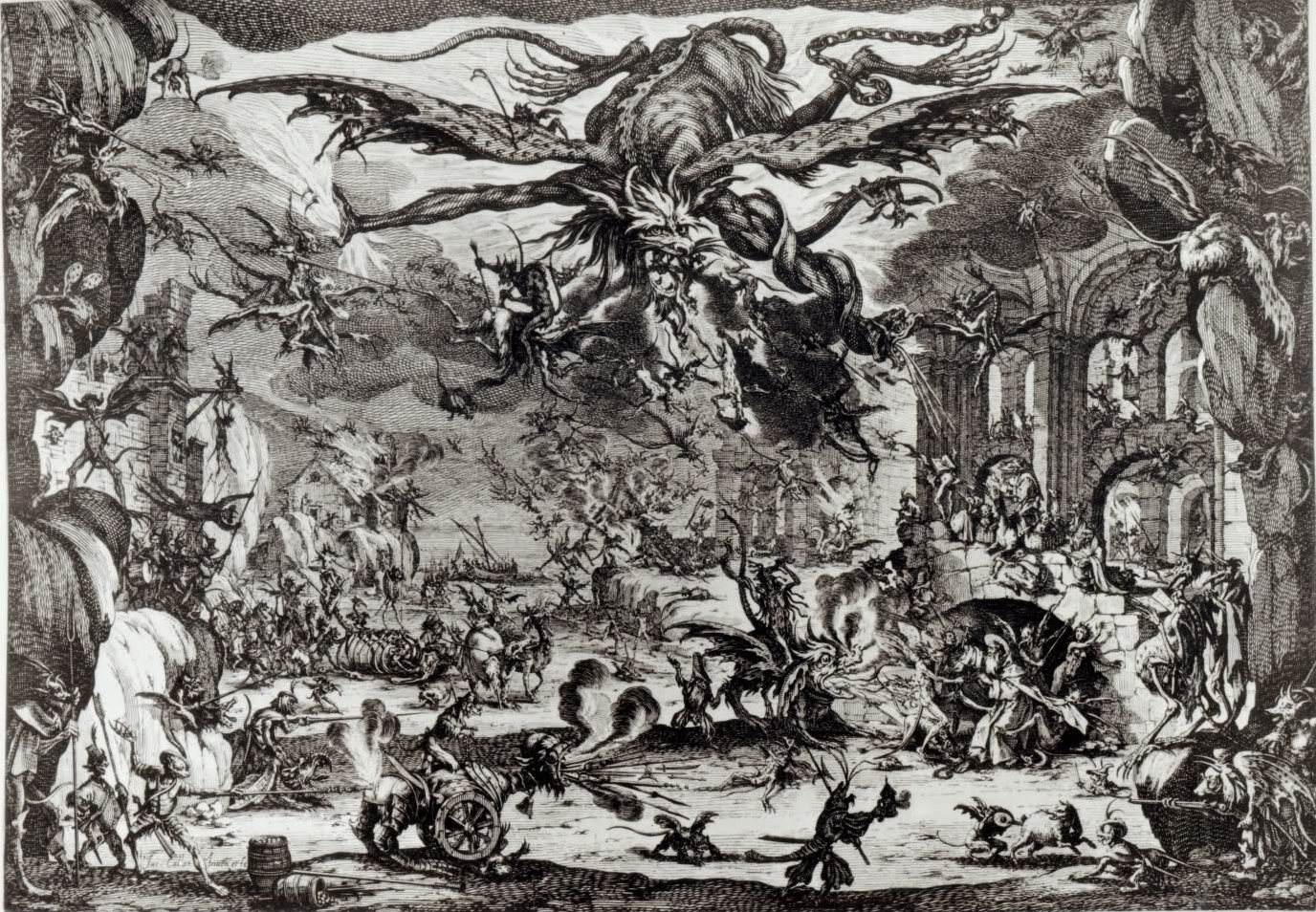 Jacque Callot's The Temptation of St. Anthony (ca. 1635)