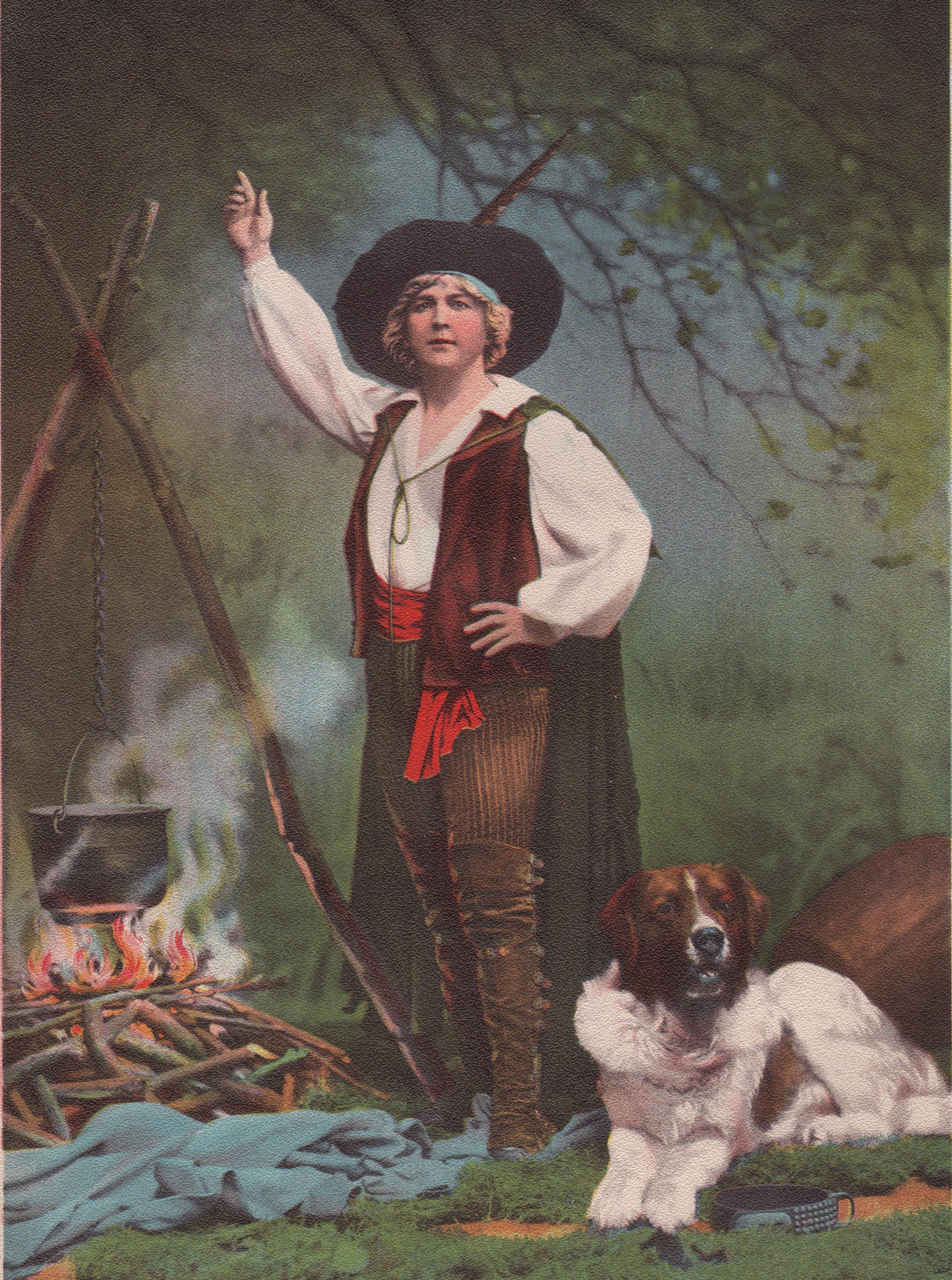 Opera and Theatre stars of the late 19th century (circa 1899)