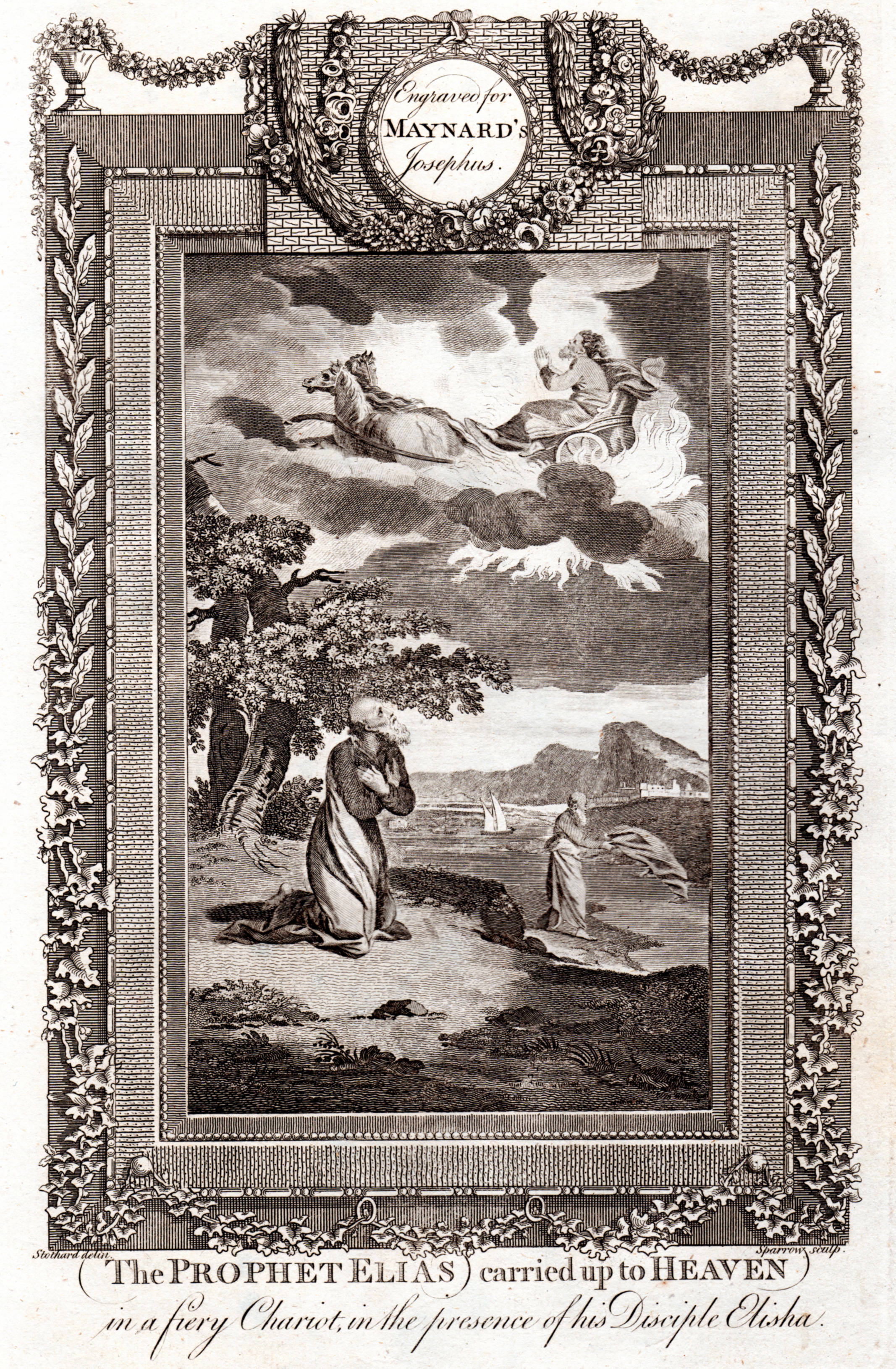 The Genuine and Complete Works of Flavius Josephus The celebrated Warlike, Learned and Authentic JEWISH HISTORIAN  by George Henry Maynard (ca. 1785-1792)