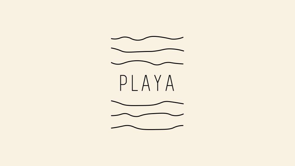 Playa Brand Development