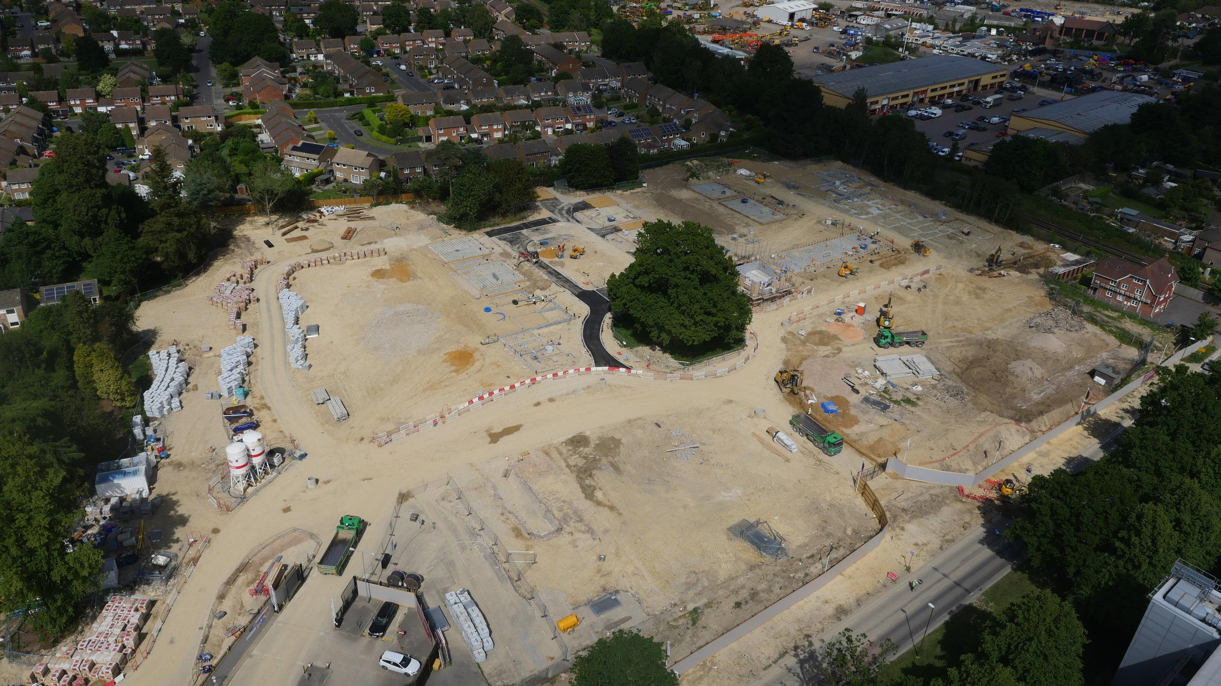 Drone Construction Site