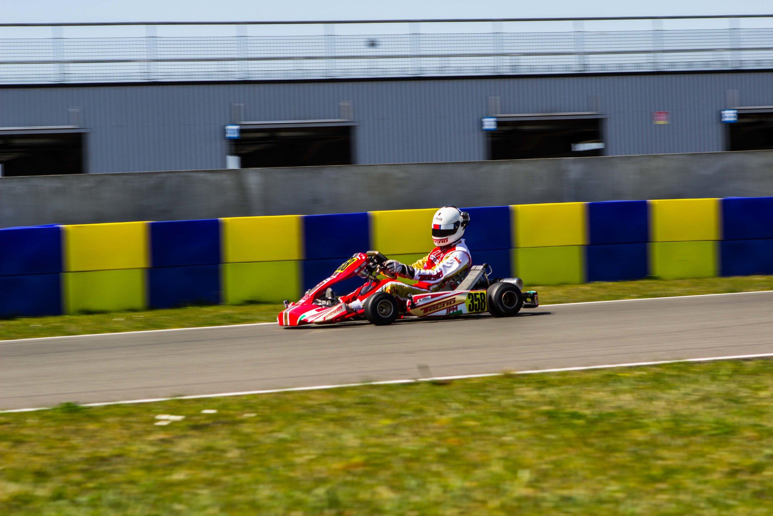 Drone go kart racing