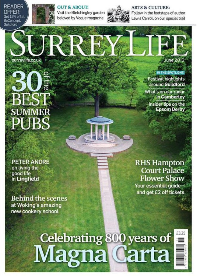 Magna Carta, Surrey Life Magazine