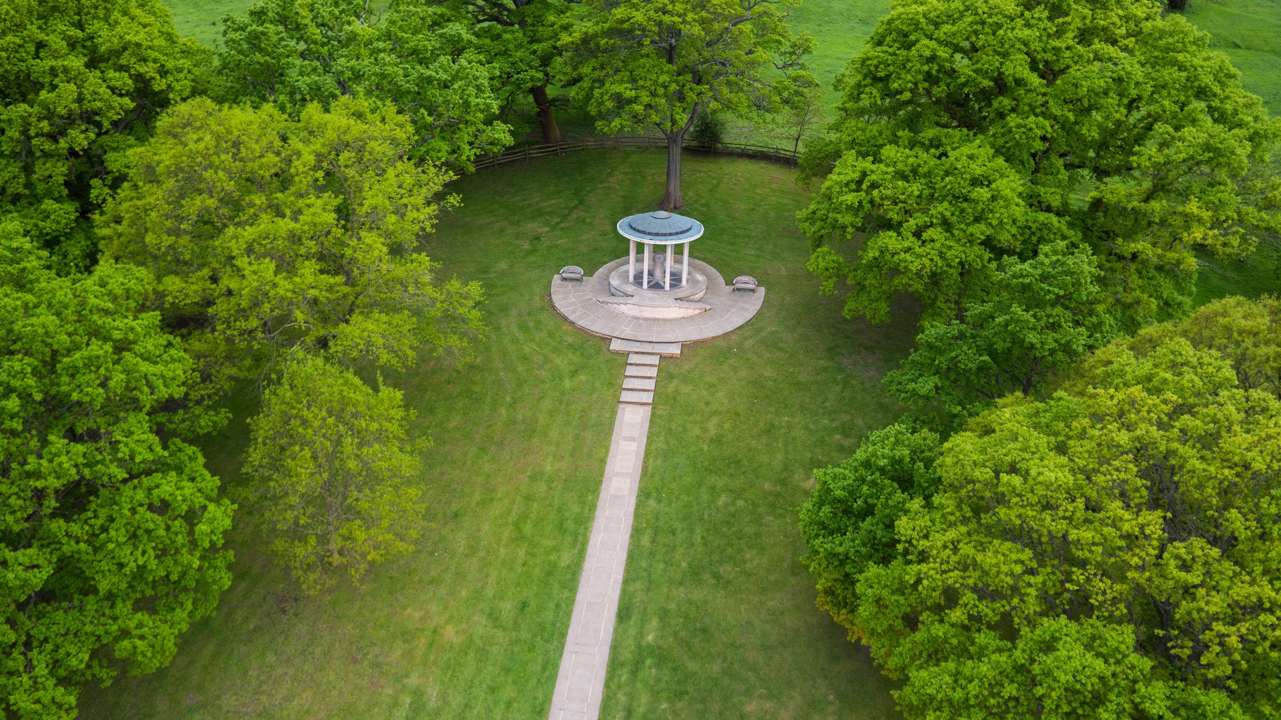 Magna Carta Ruins by Drone