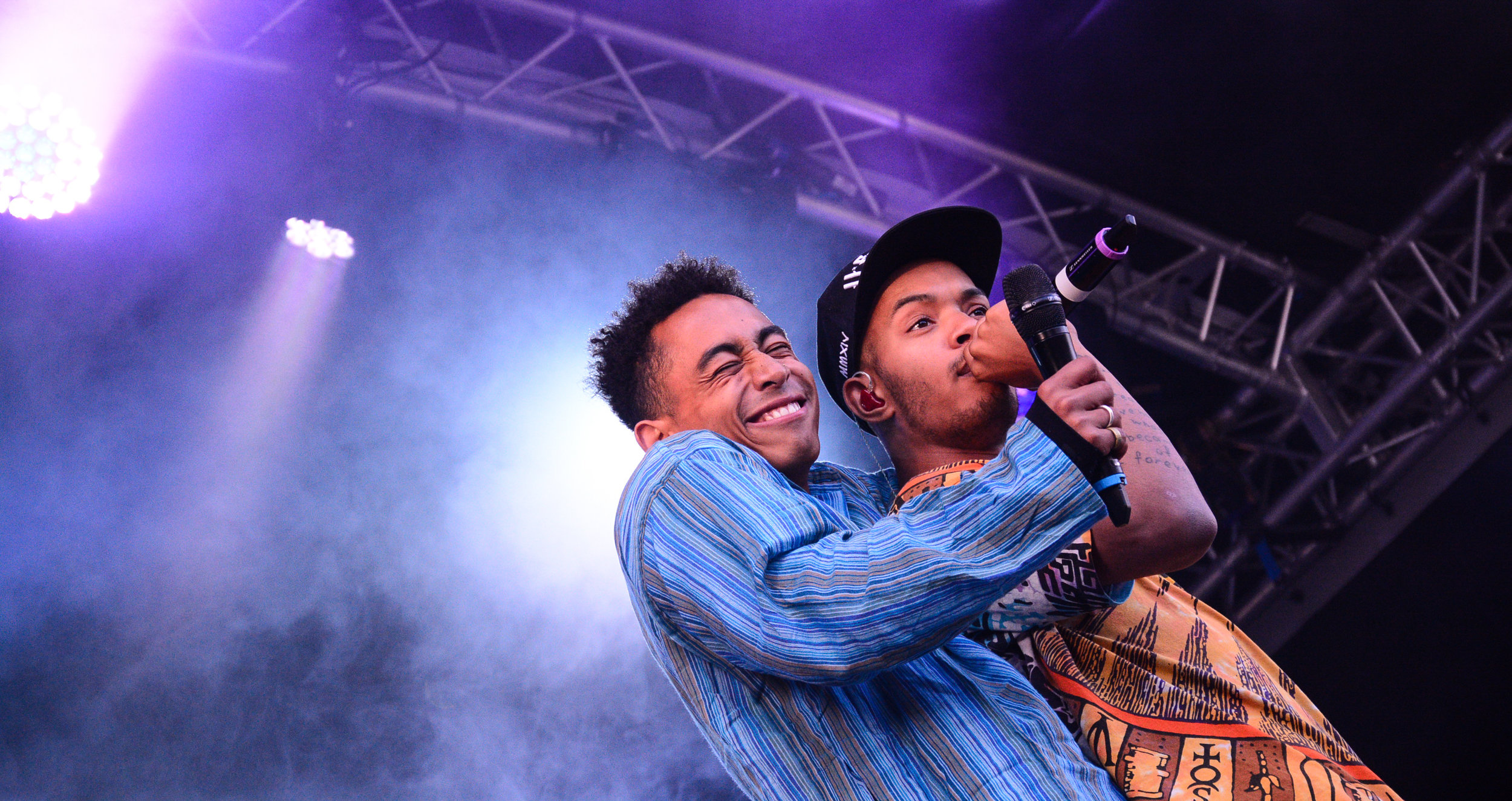 Rizzle Kicks, Thorpe Park