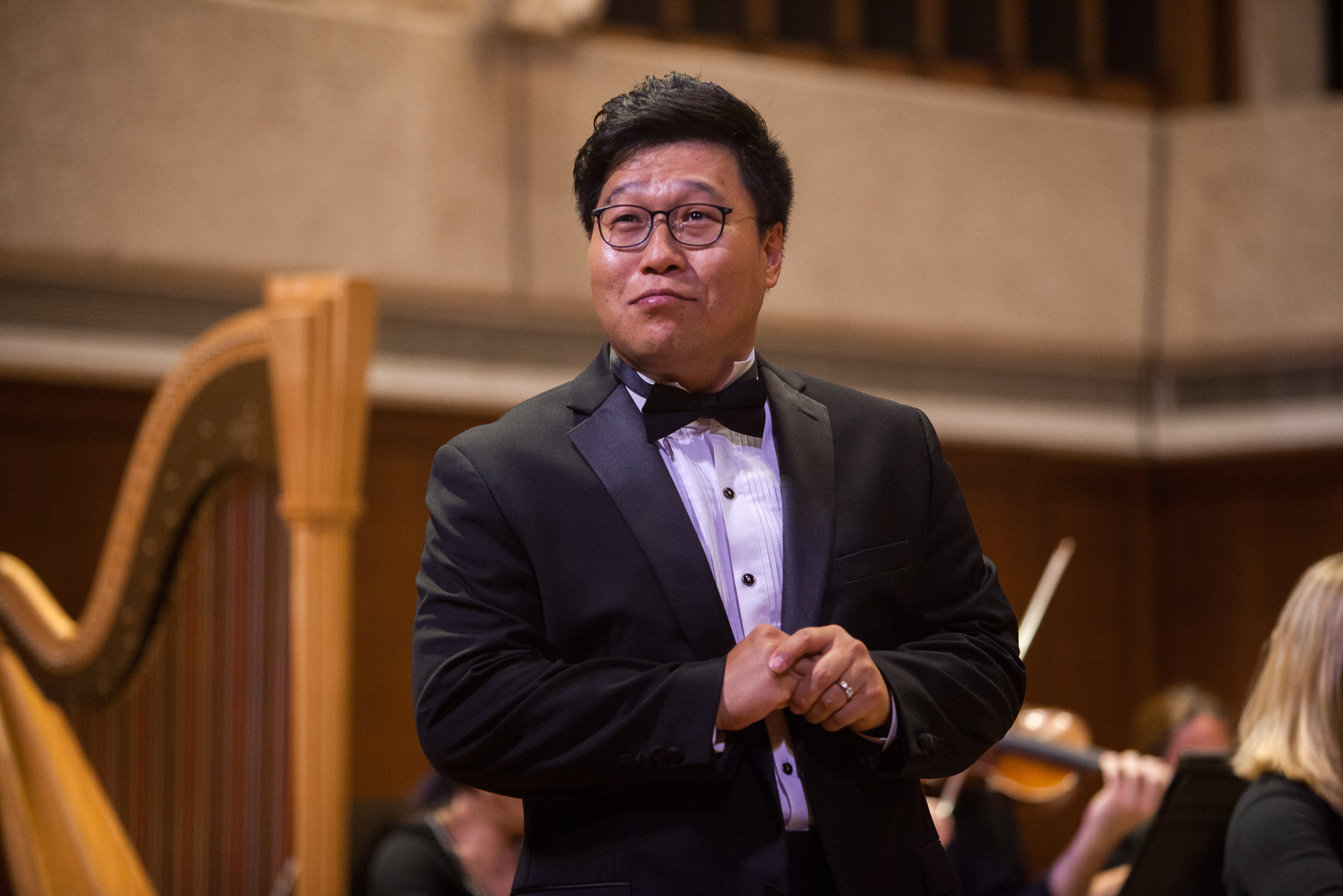 Soonchan Kwon, tenor, and the Round Rock Symphony.