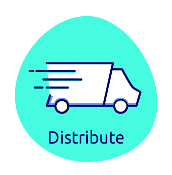 Waissels - distribute icon