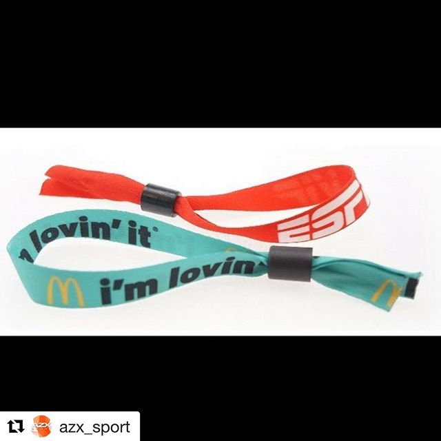#Repost @azx_sport ・・・ Last minute event plans? Fully sublimated event wristbands. 5-7 biz days or 1-3 biz days for rush! #sublimation #wristbands #promo #promotional #promotionalproducts #julesscheckassoicates #marketing #advertising