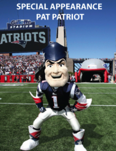 - We are excited to announce, JSA is the exclusive sponsor for the appearance by Pat Patriot at the NEPPA show. He will be taking pictures from 11:00-1:00 so make sure you stop by and get your picture taken with the Patriots mascot!