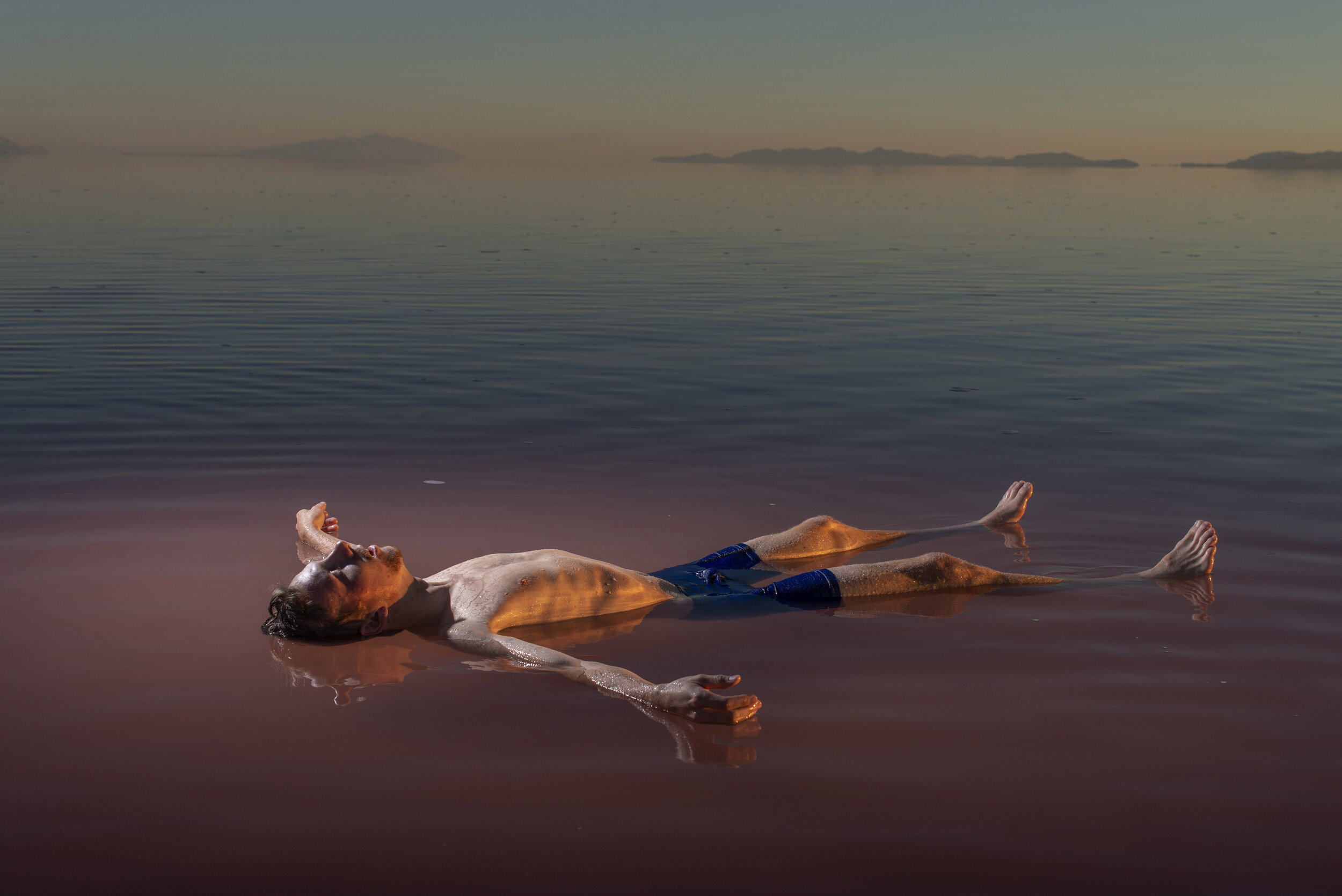 Great Salt Lake for National Geographic