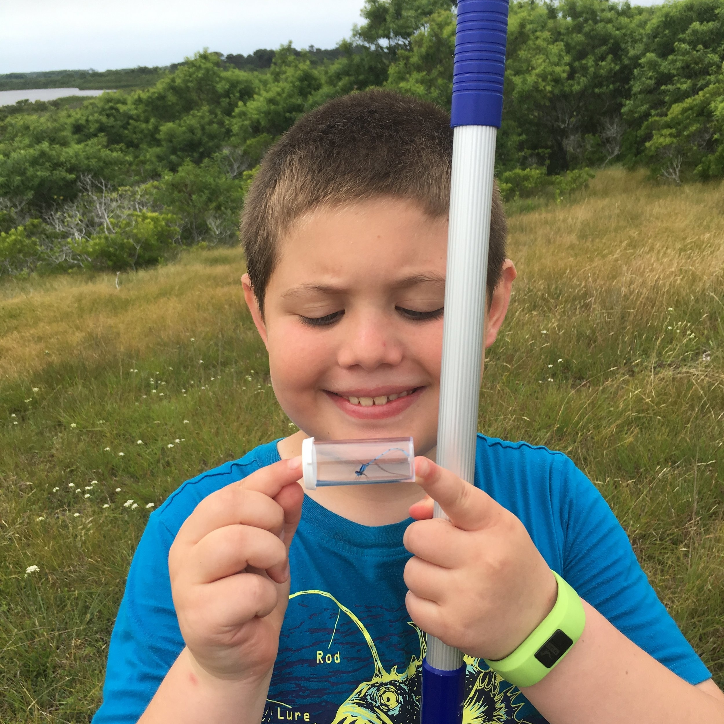 Kids in Nature Workshops - We offer fun classes for ages 6 to 10 focusing on a wide variety of science and nature topics! See our brochure and class descriptions for more information!Class Descriptions and More Information →