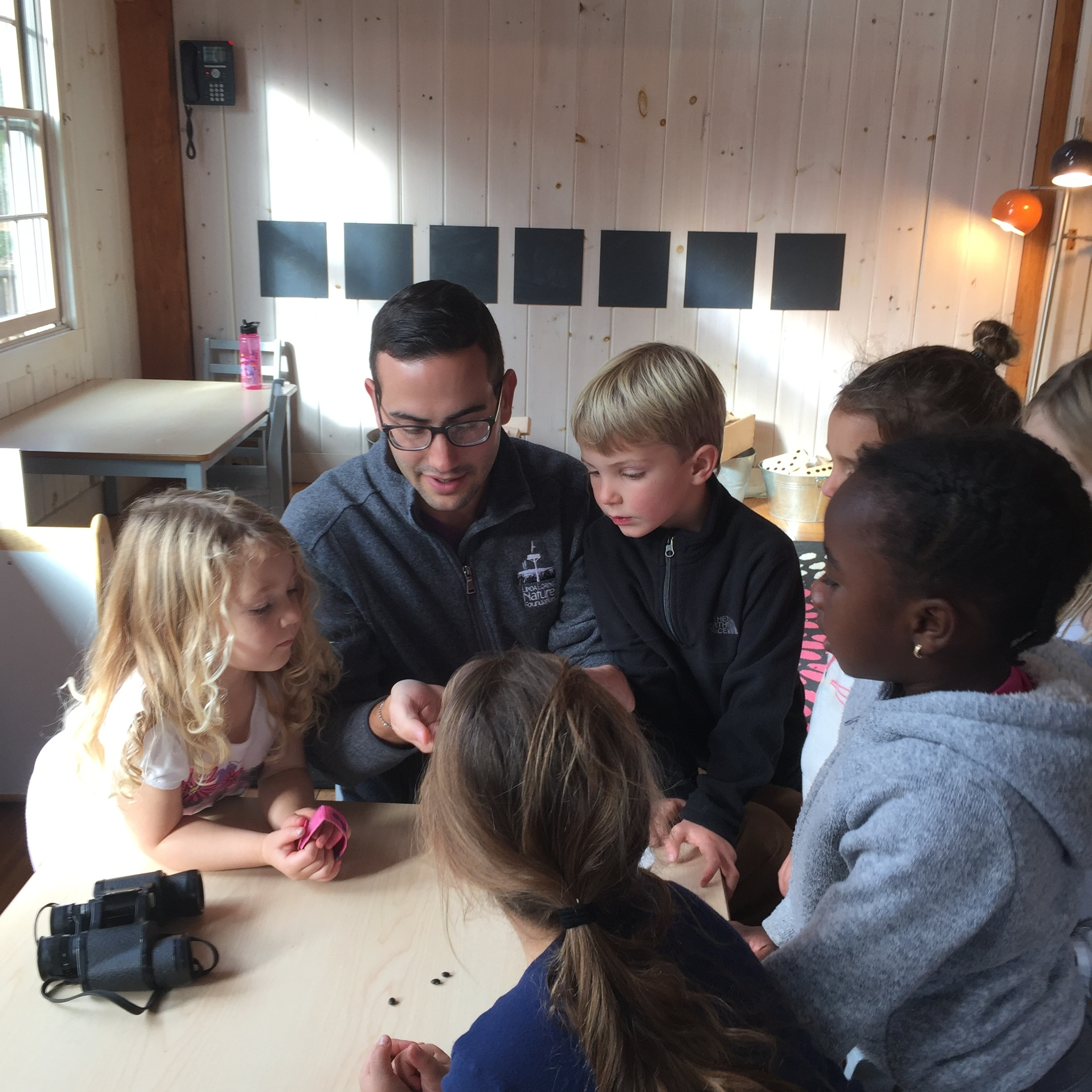 In class Workshops - LLNF staff work with all of the island's schools to deliver in-class science and nature lessons for all ages on a wide variety of topics.