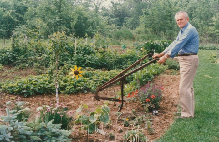 Father in the garden in Hazel Green 2.jpg