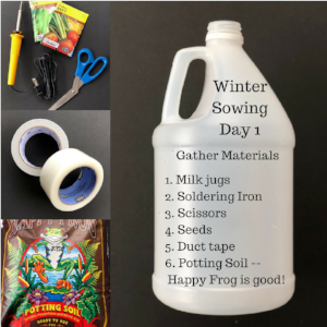 WINTER SOWING SERIES