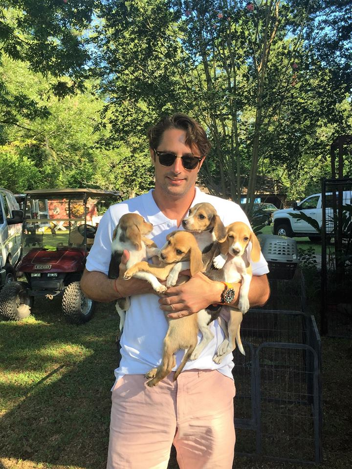 lorenzo and puppies.jpg