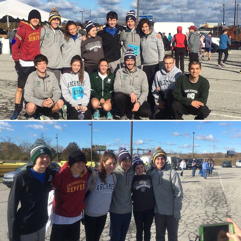 Anthony's Team Auks at the Beau Biden 5K
