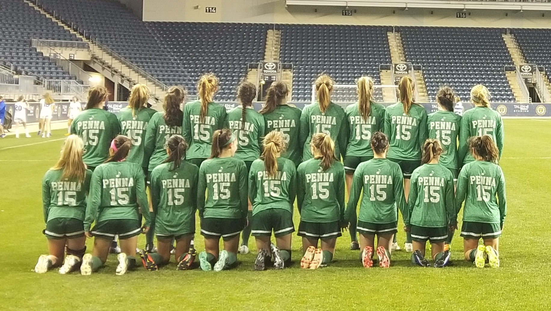 Archmere Varsity Girls Soccer Team