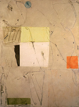 September 4, oil and mixed media on canvas 48 x 36 inches, 1997
