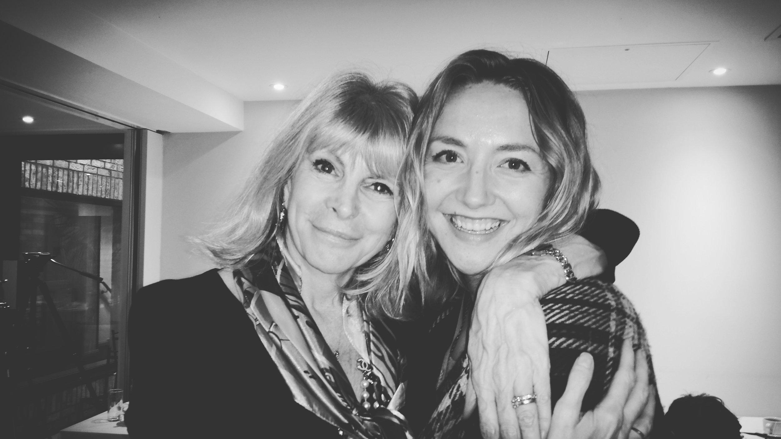 Marisa Peer and Sarah Ventura in London, England 2017