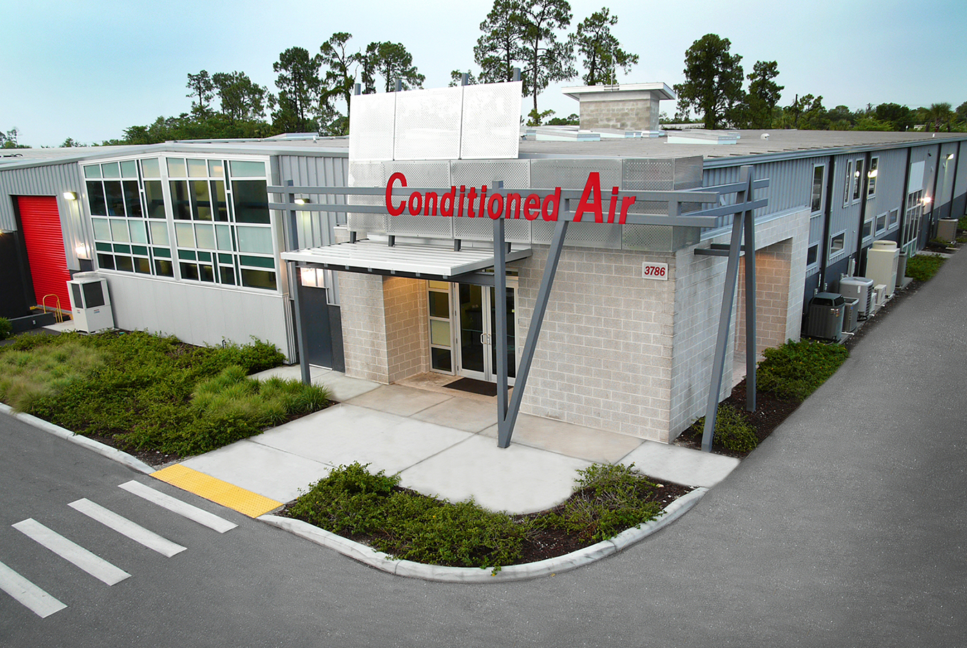 Conditioned Air Office and Warehouse