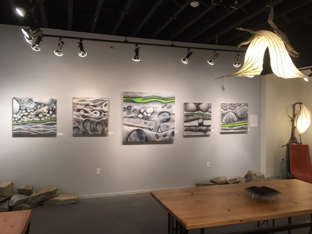 CAROL WALLACE   THE GREEN LAYER - GALLERY 378