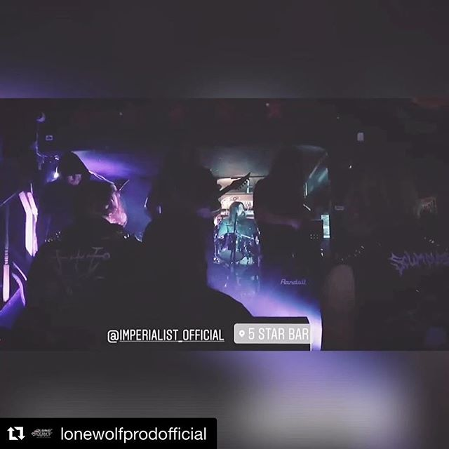 Huge thanks to everyone that came out to last nights show. And special thanks to @church8thday and @elegyensemble  for having us! #Repost @lonewolfprodofficial with @get_repost ・・・ @imperialist_official footage from the @church8thday & @elegyensemble event with the #snakesandvulturesovernorthamerica tour with @uada_official, @wolvhammerofficial, and @theblackmoriah!!! . . . #Shredule #metalshows #lametal #ocmetal #sdmetal #bandshoot #lonewolfproductions #shred #deathmetal #blackmetal #powermetal #progmetal #photoshoot #photographer #heavymetal #metal #laweekly #occult #newmusic #uada #theblackmoriah #imperialist #wolvhammer #churchofthe8thday #theelegyensemble #eisenwaldrecords #transcendingobscurity #bloodmusic