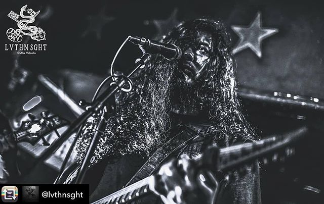 Thank you once again @lvthnsght for another excellent shot from a recent performance at the 5 Star Bar, DTLA! #imperialist #blackmetal  Repost from @lvthnsght using @RepostRegramApp - A path is becoming clearer and I should focus my heart towards it. I'll be catching up on all the pending sets I have and work towards the destructions of what attempts to  obstruct my way in the future. Death to those empty of spirit but overflow with dishonest filth. You are nothing. - - - Here's @imperialist_official reminding us what quality black metal is.