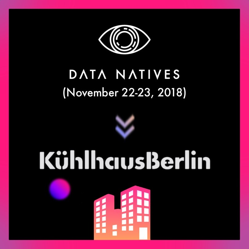 3. I created the official venue announcement for their yearly conference. Data Natives hosts a massive tech event in November every year. This was an Instagram and Twitter-friendly post.