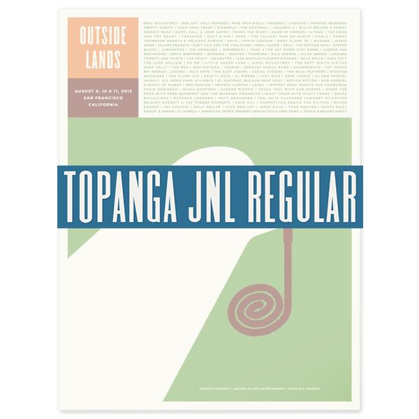 Topanga JNL Regular font