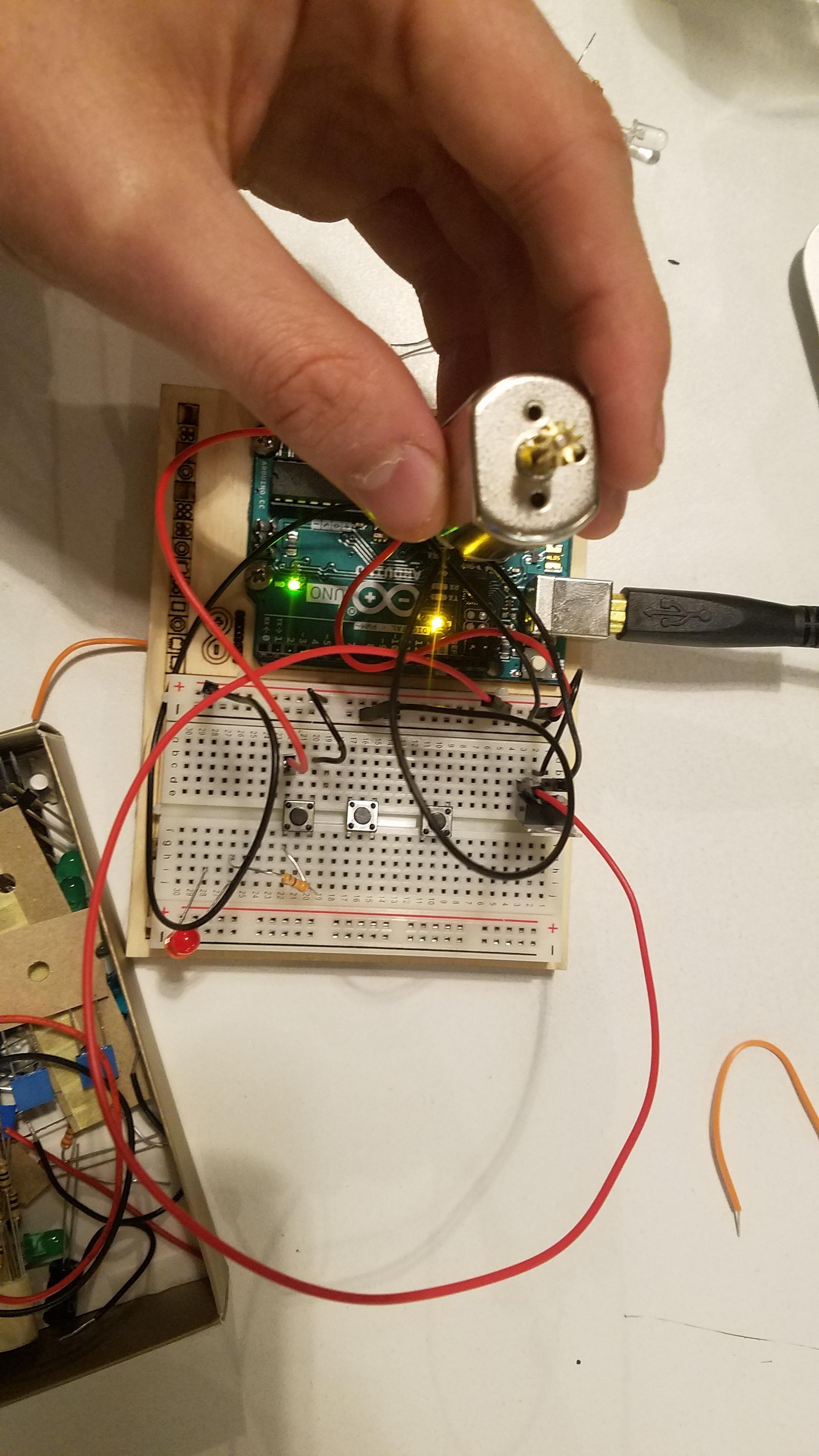 DC Motor Switching Circuit.