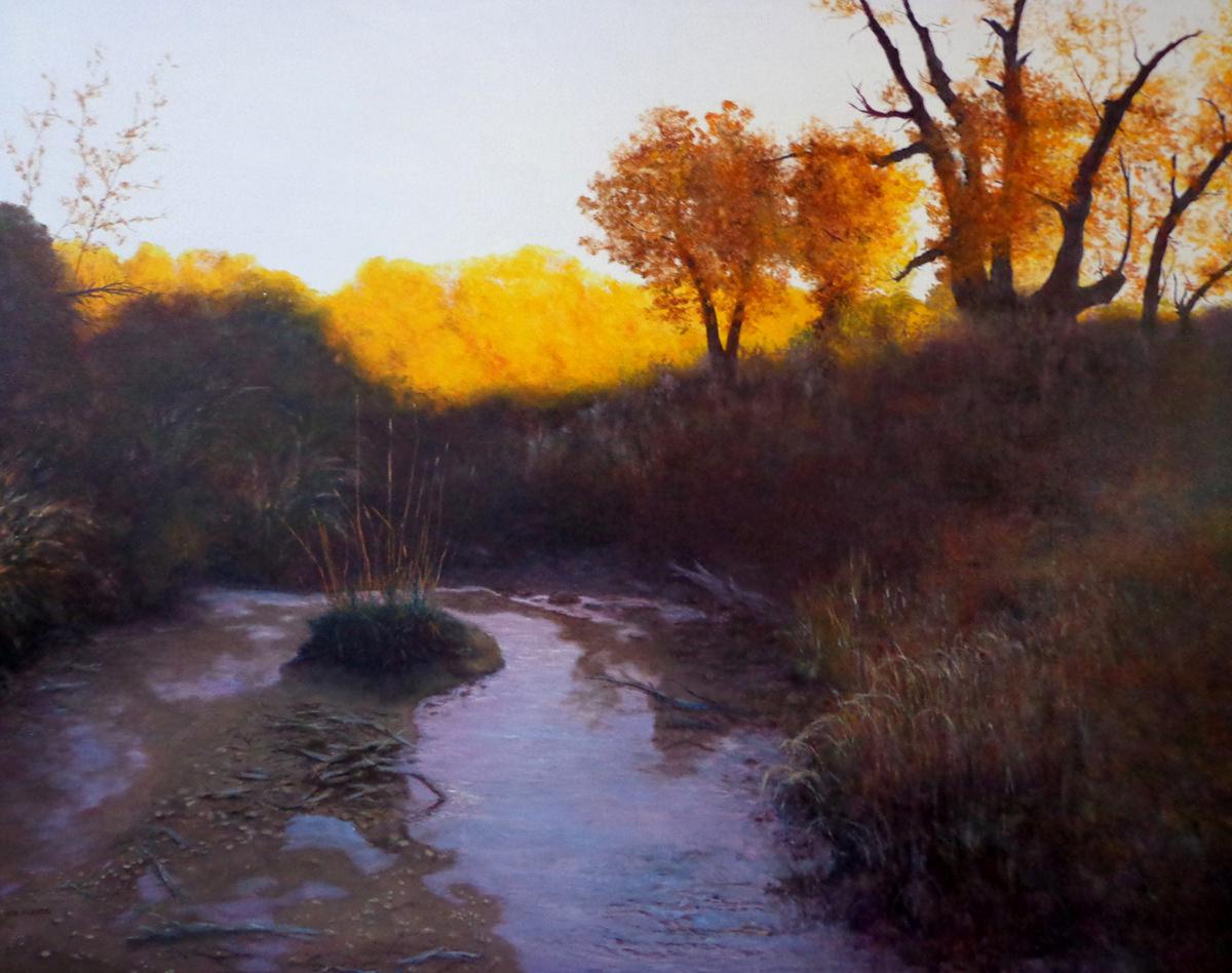 Dusk on Sybille Creek