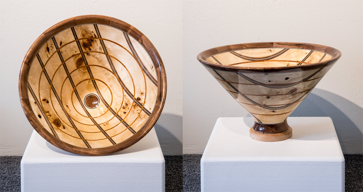 Wood Sculpture Bowl