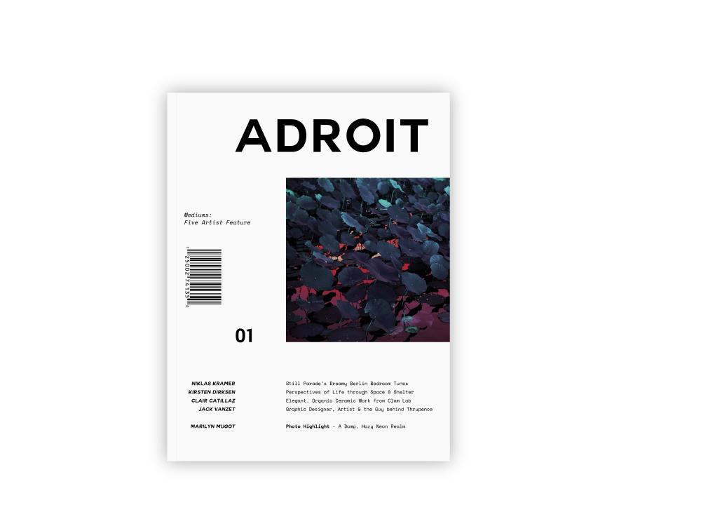 Adroit Magazine - Publication Design