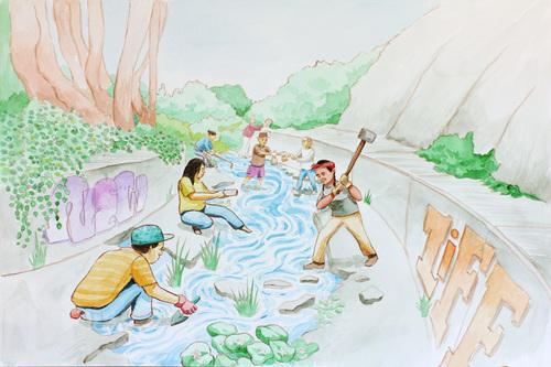 """Daylighting the Creek"""
