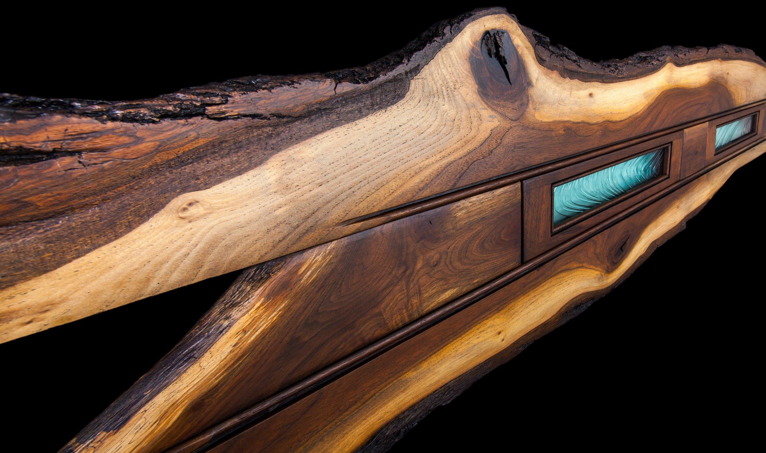 """""""Swordfish"""" 5 foot wall eco-sculpture"""