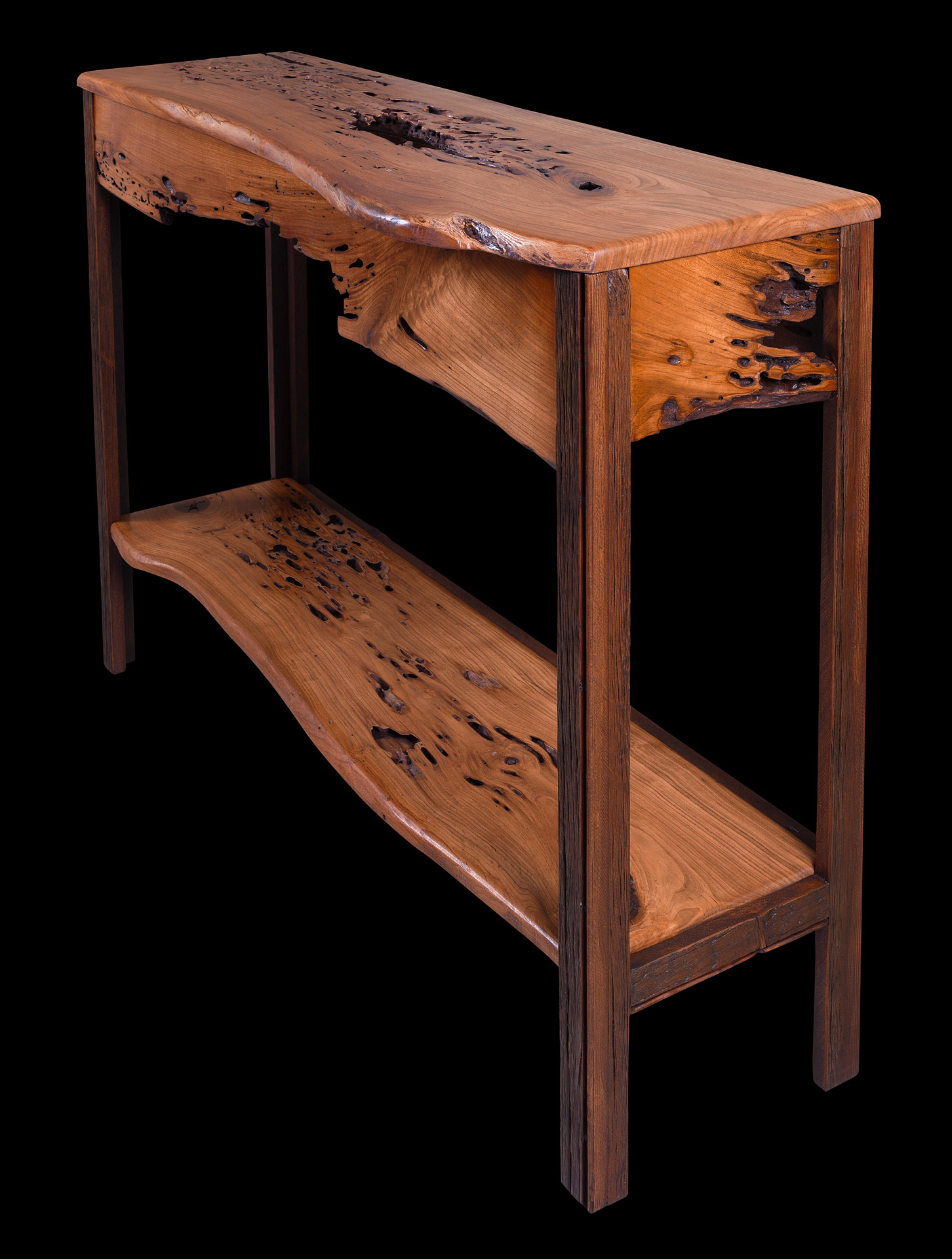 Cherry eco console table