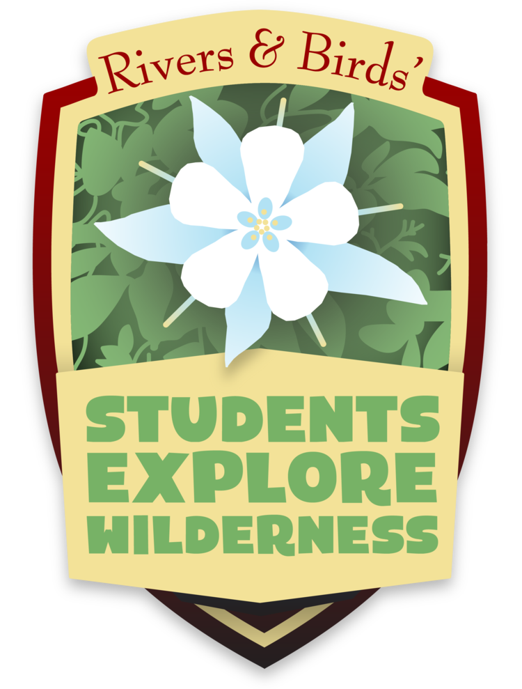 Students Explore Wilderness logo. Variable sizes.