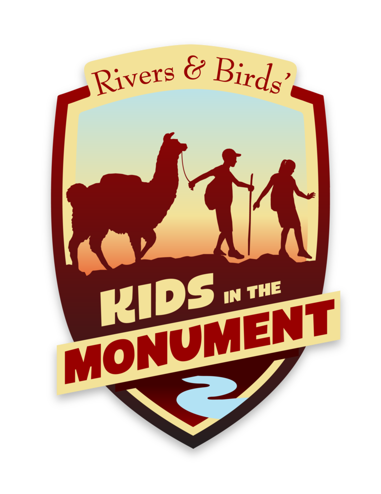 Kids in the Monument logo. Variable sizes.