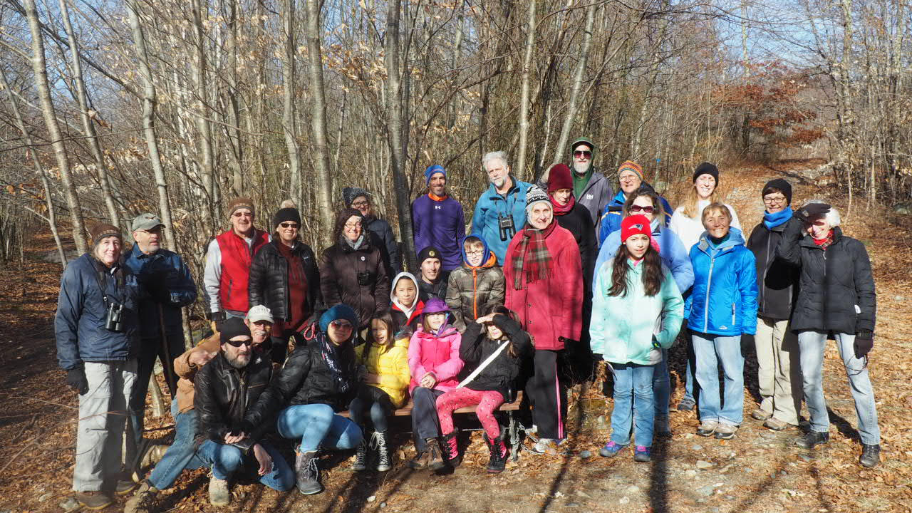 The Rehoboth Land Trust 2018 Winter Hike — let's hope for some snow this year!