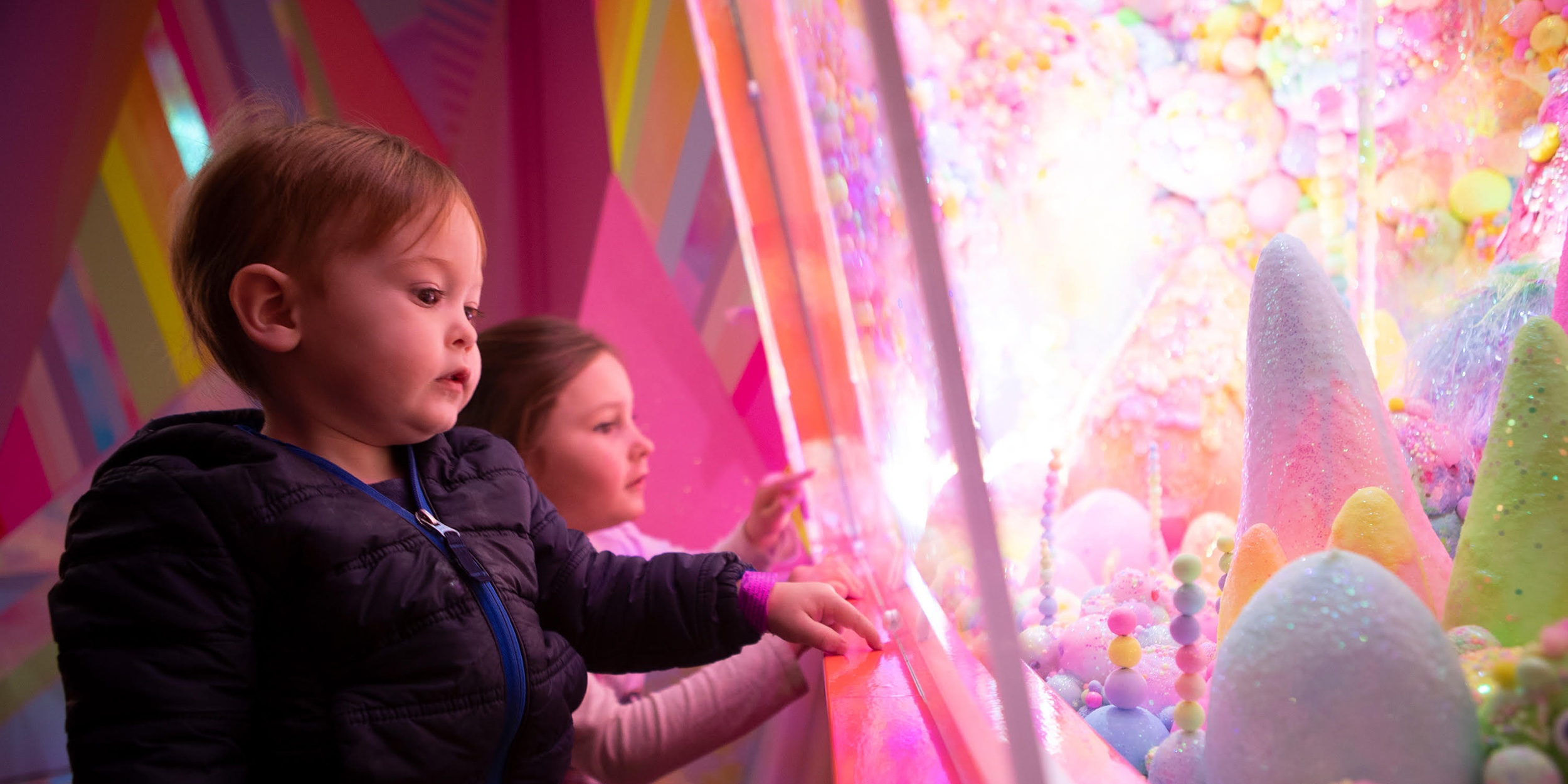 Children Playing in Meow Wolf