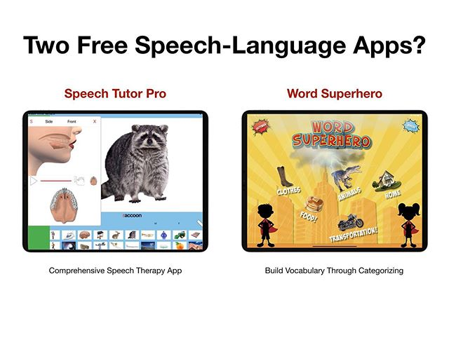 Would you like a chance to win some free speech therapy apps? Just follow @time2_chat  Tomorrow we'll choose two people to get both apps for free. If you already have one (or both), we'll add you to the list for a free version of our next app.
