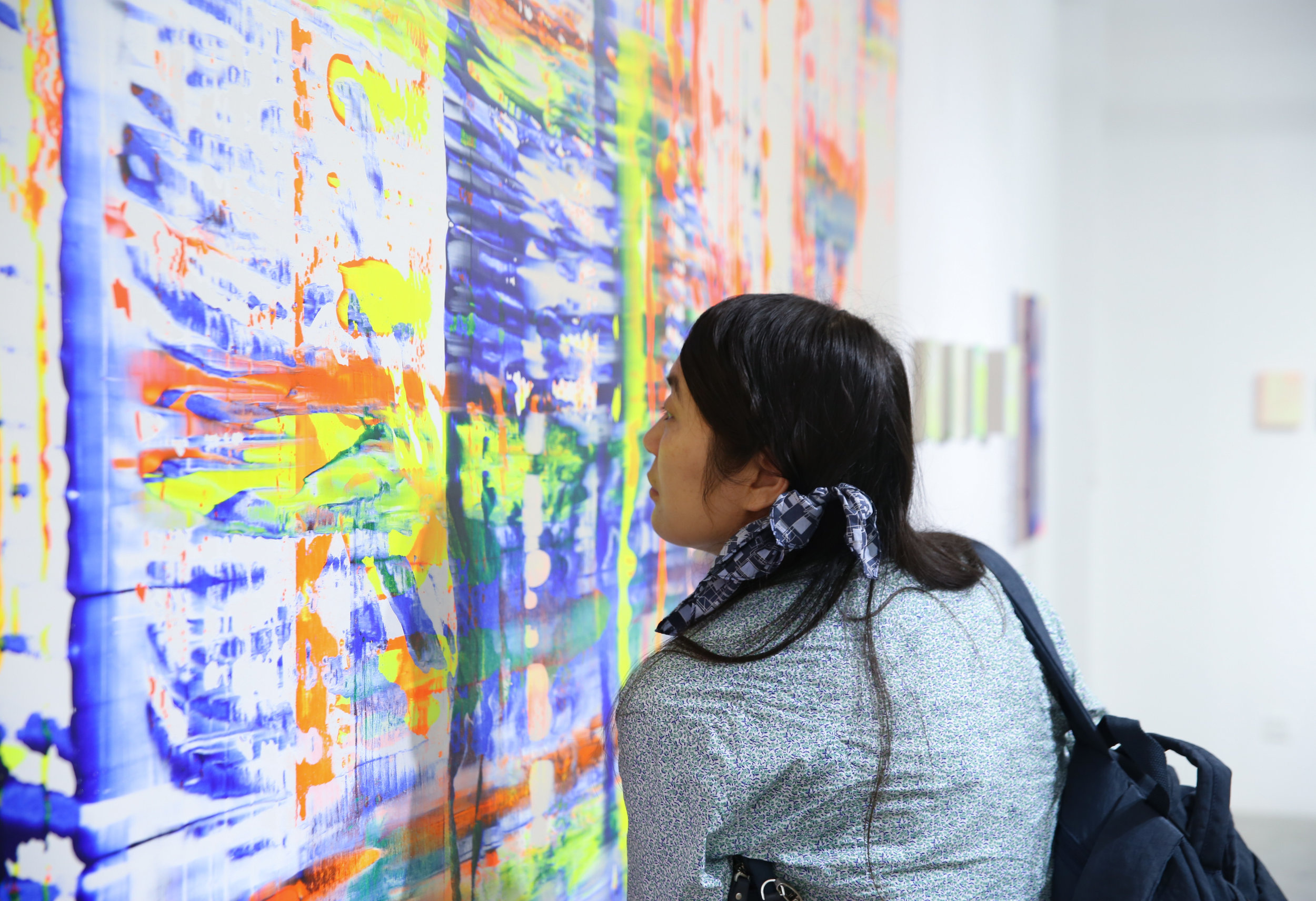 Exhibition 'Radiant Touch' in Guangzhou China photograph by Shanshan He