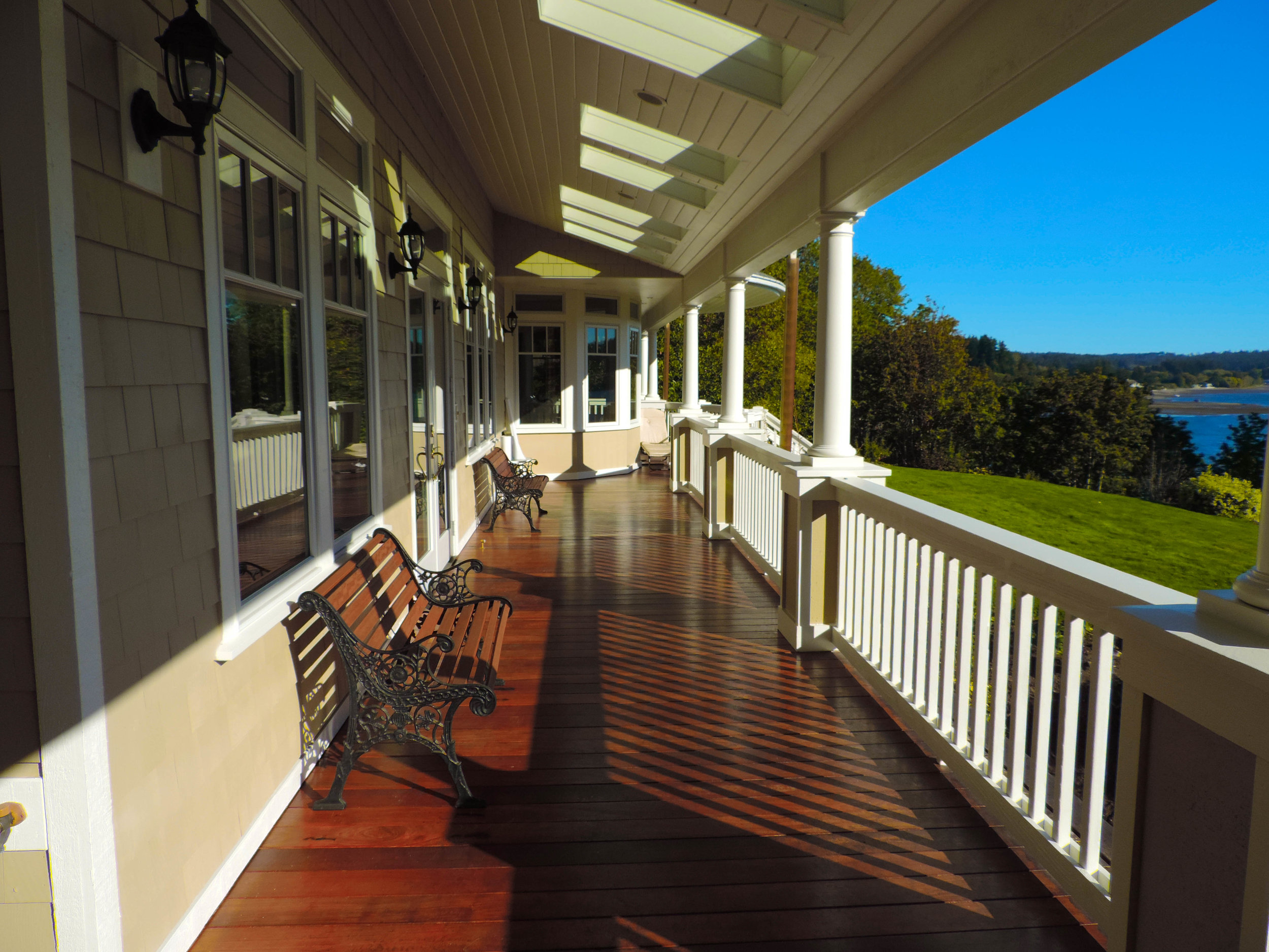One of our finest deck finishing and exterior paint job.