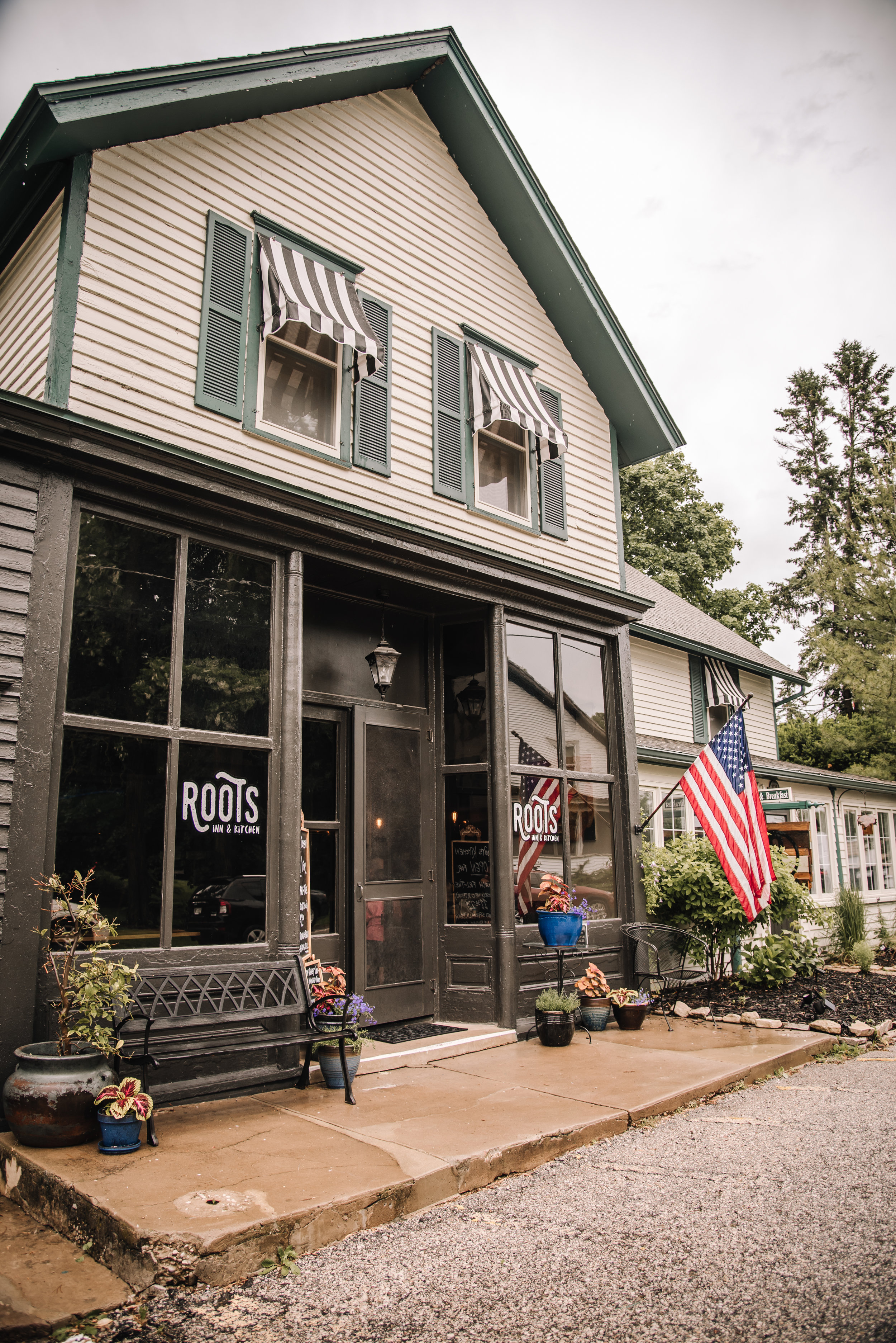 Roots Inn & Kitchen in Sister Bay, WI