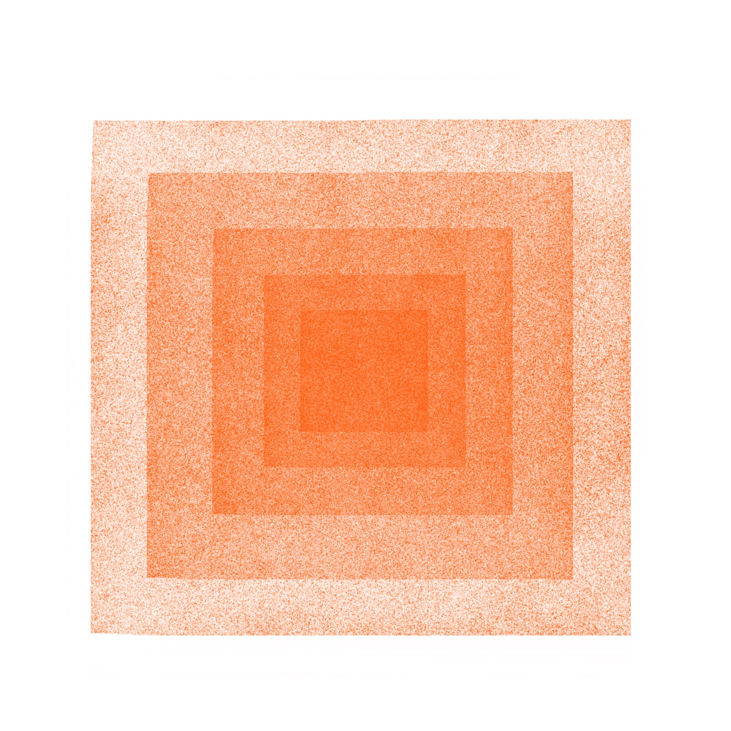 Red & Orange Squares in Squares