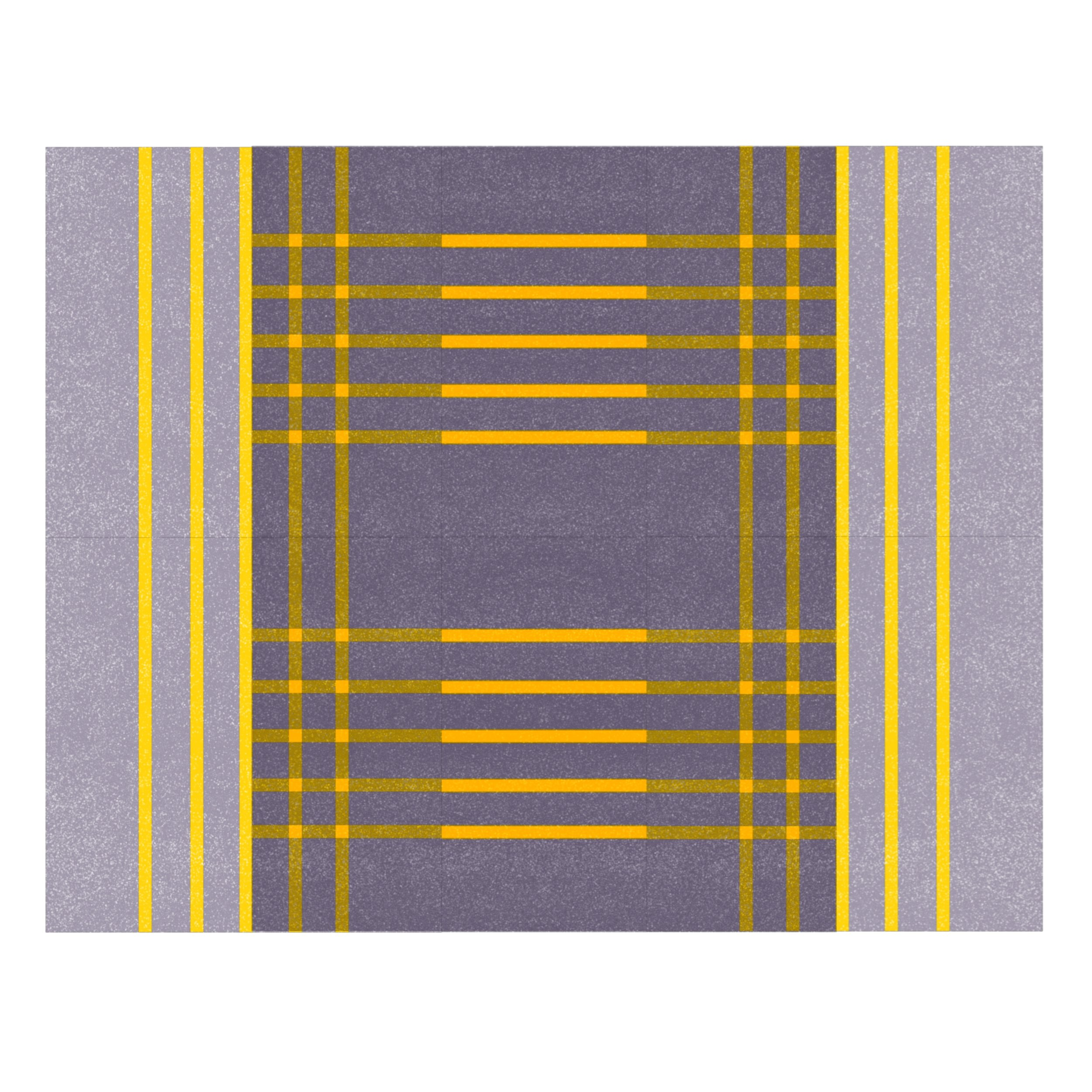 Grey With Yellow Lines (Variation 1)