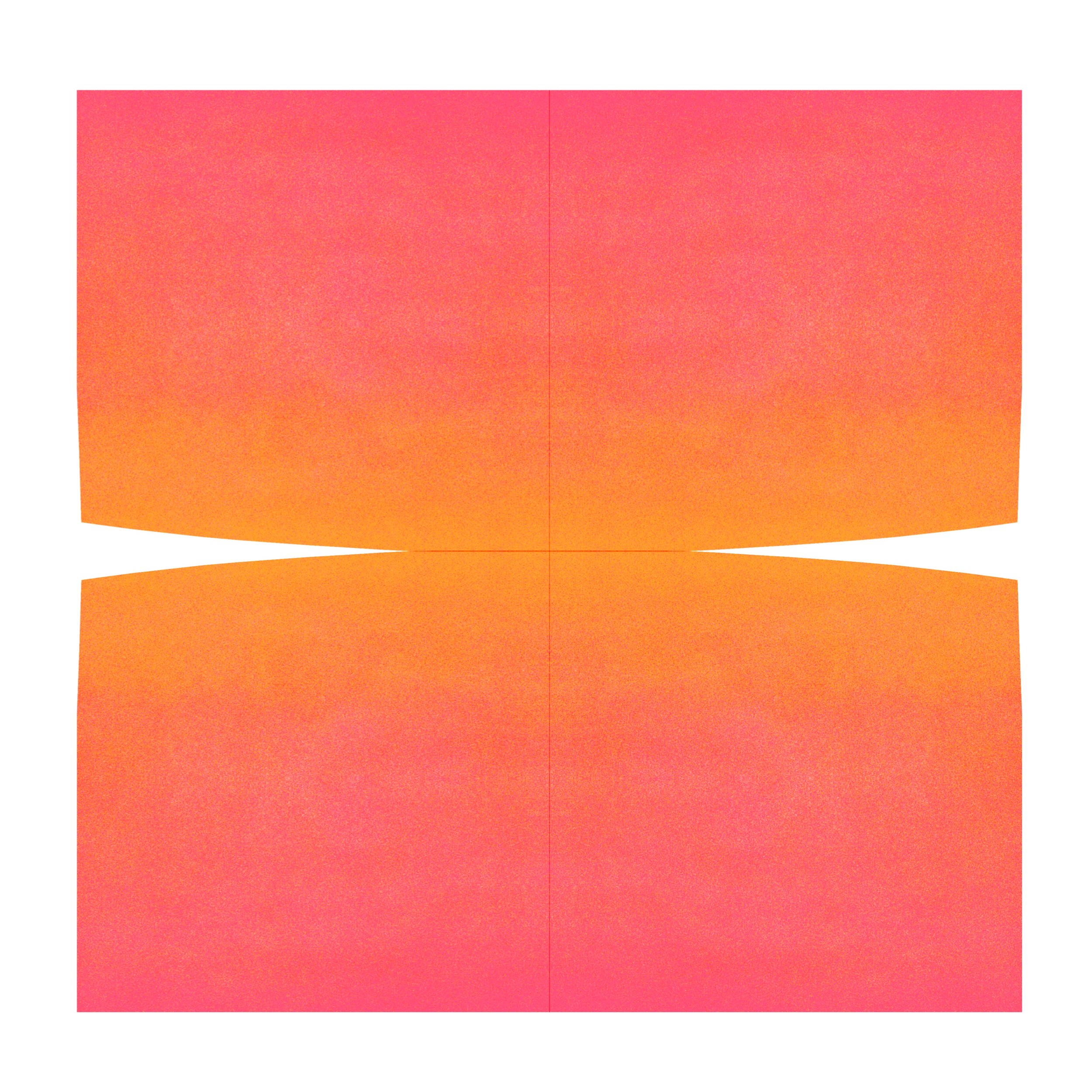 Color Space 2: Orange and Hot Pink